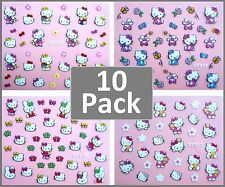 HELLO KITTY DIY 3D Nail Art Stickers - PACK OF 10.. $15 - Girls Party Lolly Bag
