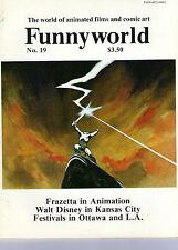 Funnyworld 19 FN Frazetta Animation WAlt Disney in Kansas City