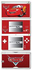 Voitures Lightning Mcqueen Vinyle Peau Sticker Pour Nintendo DS Lite