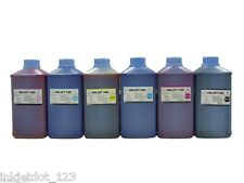 6 Liter refill ink for HP 72 Designjet T1100 T1120 T7100 PK/C/M/Y/Gy/+MK(Pig.)