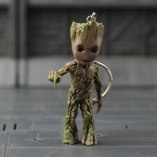 7.5cm Guardians Of The Galaxy Groot Finger Version Keychain Key Rings