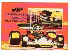 Brazil Scott 1247, MNH, Automobile Race, Souvenir Sheet