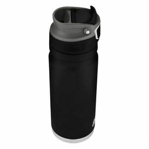 Coleman AUTOSEAL RECHARGE TRAVEL MUG Stainless Steel BLACK- 500ml Or 600ml
