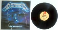 EX! METALLICA Ride The Lightning PICTURE DISC LP! First Press 198 MFN 27