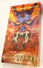 Sterling VHS Shadowbuilder 1998 Horror Michael Rooker Lenticular Cover