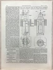 Pump For Private Well In The London District: 1908 Engineering Magazine Print
