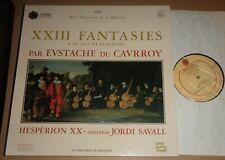 Savall/Hesperion XX - EUSTACHE DU CAURROY XXII Fantasies - Astree AS 86
