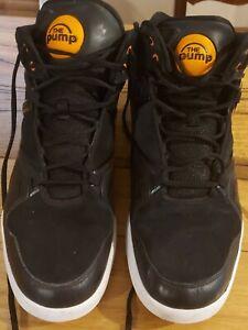 Reebok Pump shoes OMNI LITE HLS Manarin orange and black 2012