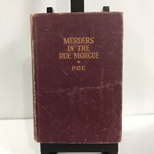 Vintage Murders In The Rue Morgue and Other Stories Hardcover Edgar Allan Poe
