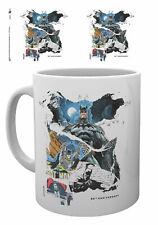 Batman 80th Anniversary Comic Rip 10oz 300ml Ceramic Coffee Breakfast Mug