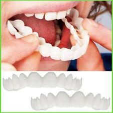 Magic Teeth Brace 2 Pcs/set Temporary Smile Comfort Fit Cosmetic Denture Teeth