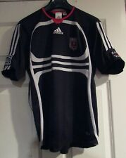 DC United Black Compression Shirt Sz Youth Large by Adidas