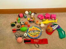 Assorted Toys, Balls, Bean Bags And Others
