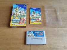 Metal Max 2 (JAP) SNES Super Nintendo famicon NTSC-J CIB
