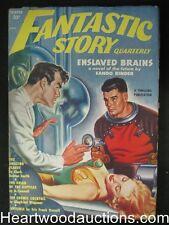 """Fantastic Story"" Winter 1951  Clark A Smith,Binder,Long, - High Grade"
