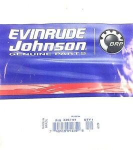BRP Evinrude Johnson Crank Seal Ring P/N 326749