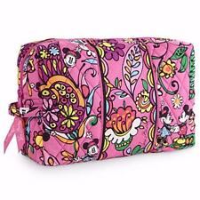 "VERA BRADLEY ~ Disney ""Just Mousing Around"" ~ Large Cosmetic Travel Bag ~ NWT"