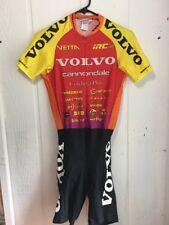 Libor Karas Volvo Cannondale Skinsuit Vintage  1996 Short Sleeve