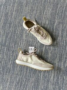 Zara Sand Brown Soft Lace Up Sneakers Trainers UK5 EU38 US7.5 # T54