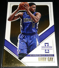 Rudy Gay 2013-14 Panini Innovation VIEW GOLD Parallel Insert Card (#'d 05/10)