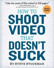 How to Shoot Video That Doesn't Suck Advice to Make Any Amateur   Steve Stockman
