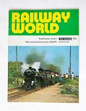 Railway World March 1972 Paddington Today Rise & Decline of The CK&PR VG Condion