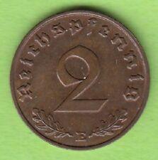 2 REICH PFENNIG 1940 e meglio di VZ nswleipzig RARE