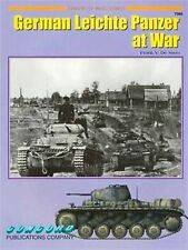 Concord Publications Armor at War Series German Leichte Panzer at War Book 7066