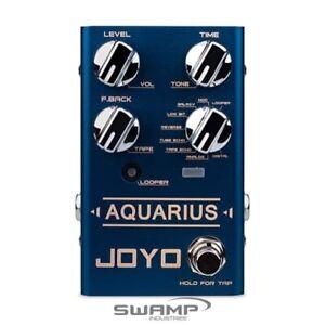 JOYO R-07 Aquarius Delay and Looper Guitar Effects Pedal - Revolution R Series