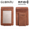 Men's Leather Anti-magnetic Wallet Bank RFID Credit Card ID Slim Holder Purse