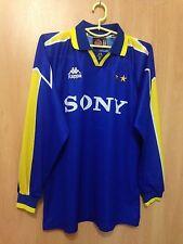 JUVENTUS ITALY 1995/1996 AWAY FOOTBALL SHIRT JERSEY MAGLIA L/S VINTAGE KAPPA