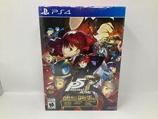 Persona 5 Royal: Phantom ladrones edición PS4 (PlayStation 4, 2020)