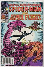 Marvel Team-Up LOT (6) Annual #7 Byrne (1984, Marvel) Spider-Man Alpha Flight