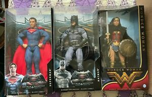 Barbie Batman Vs Superman Wonder Woman Amazon PrIncess Lot - Black Label