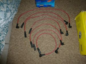 Ford V6 Capri Consul Cortina Granada Sierra Zodiac Reliant Ignition Lead Set HT