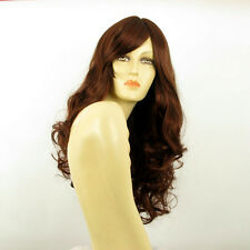 length wig for women curly dark brown copper intense ref: ZARA 322 PERUK