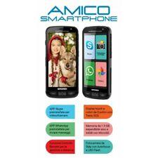 "BRONDI AMICO SMARTPHONE PER ANZIANI 3G LCD 5"" WHATSAPP, SKYPE, GPS, RADIO, ITALI"