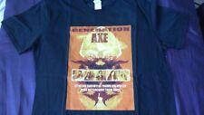 Generation Axe T Shirt! Size L Yngwie Steve Vai Zakk Wylde Tosin Abasi Nuno