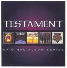 Testament - Original Album Series 5 CD Set 2013 Warner