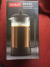 New listing Bodum Brazil 8-Cup French Press Coffee Maker 34-oz Black New In Box