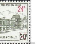 Belgien PP52,PP53,PP54,PP55 (kompl.Ausg.) gestempelt 1959/63 Postpaketmarke