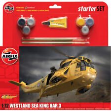 Airfix Westland Sea King HAR.3 Helicopter Starter Set Model- Scale 1:72 - A55307