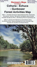 ROOFTOP'S COHUNA - ECHUCA - GUNBOWER FOREST ACTIVITIES MAP  2nd Edition