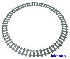 LEGO Eisenbahn 1x CIRCOLO ferroviario / 16x gebogne BINARI