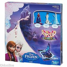 Disney Frozen Pop-Up Magic Game with Anna Elsa Olaf - Pop Up Board Game Figurine