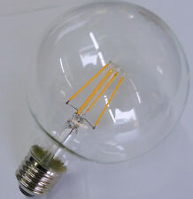 LED-Lampe, Globe-Form, klar, TS ELECTRONIC Filament-LED, E27/230V, 7W