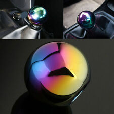 Neo Chrome Aluminum Manual Car Round Ball Gear Thread Shift Knob Shifter Handle