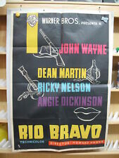 RIO BRAVO JOHN WAYNE DEAN MARTIN HOWARD HAWKS     LITOGRAFIA