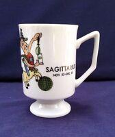 Sagittarius Coffee Mug Nov. 22-Dec. 21 Horoscope Astrology Signs Collectible