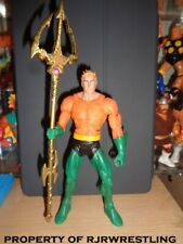 DC Universe Justice League Unlimited AQUAMAN Trident staff Accessory complete